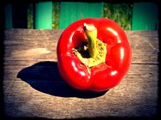Free Red Pepper Bell Stock Photo - 39762710
