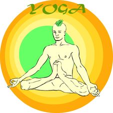 Free Yoga Meditation: Asana Stock Image - 39774611