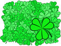 Free Shamrock Background Royalty Free Stock Photos - 3987658