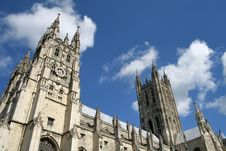 Free Canterbury Cathedral Royalty Free Stock Images - 3980049