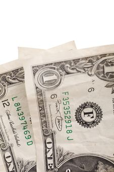 Two Dollars Royalty Free Stock Photo