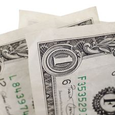 Two Dollars Stock Photography