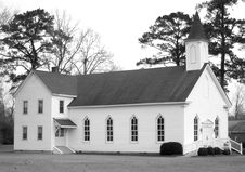 Free Country Church. Royalty Free Stock Images - 3980629