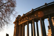 Retiro Park Madrid Royalty Free Stock Images