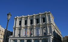 Free The Opera House Madrid Royalty Free Stock Photo - 3980975