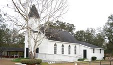 Free Country Church. Stock Photography - 3980982