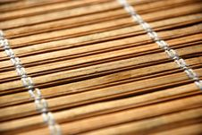 Free Bamboo Table Cover Stock Photo - 3982080