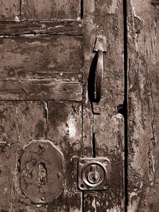 Free Old Door Royalty Free Stock Photos - 3982268