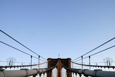 Free Brooklyn Bridge Royalty Free Stock Photos - 3983458
