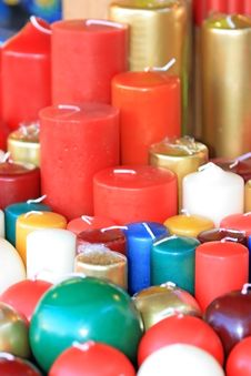 Free Candles Royalty Free Stock Photography - 3984267