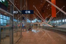 Free Airport Interior Stock Image - 3985461