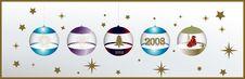 Free Christmas Balls Stock Photography - 3985492