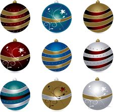 Free Christmas Balls Stock Images - 3985524