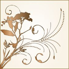 Free Floral Ornament Royalty Free Stock Photography - 3985727