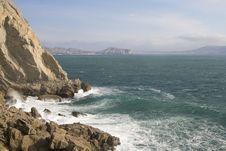 Free Sinyaya Bay And View Of Sudak, Crimea, Ukraine Royalty Free Stock Photos - 3986298