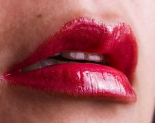 Free Red Lips Stock Photos - 3986483