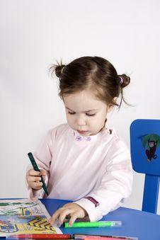 Free Little Girl Stock Image - 3986691