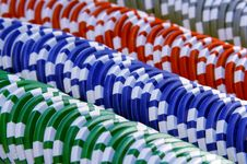Free Casino Chips Royalty Free Stock Photos - 3986928