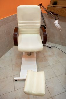 Pedicure Armchair Royalty Free Stock Image