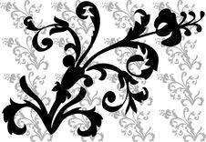Free Floral  Frame Elements Stock Images - 3987424