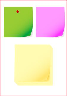 Free Post-it Stock Photo - 3987510