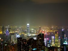 Free Hong Kong By Night Stock Photos - 3987603