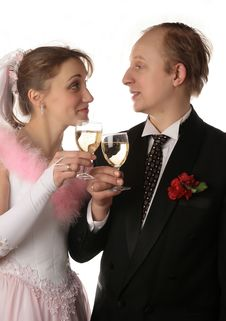 Free The Fiancee And Bridegroom Stock Photos - 3987683