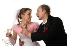 Free The Fiancee And Bridegroom Stock Photography - 3987702