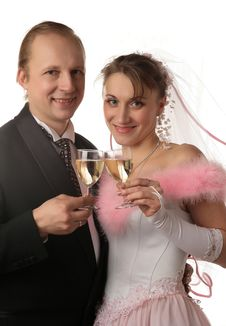 Free The Fiancee And Bridegroom Stock Photography - 3987712