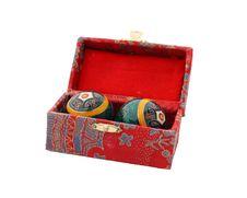 Free Colourful Tibetan Box Royalty Free Stock Image - 3988366