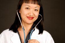 Free Female Doctor Stock Photo - 3988640