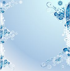 Free Christmas Background - Winter Royalty Free Stock Photography - 3989067