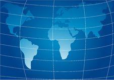 Free World Map Stock Image - 3989301