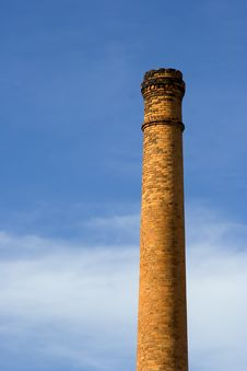 Free Old Factory Chimney Stock Photography - 3989462
