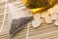 Free White Tea, Nylon Tea-bag And Sugar Stock Photo - 3992920