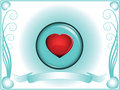Free Valentine Heart In Crystal Ball Royalty Free Stock Photography - 3998347