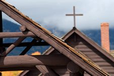 Free Chapel Roof Royalty Free Stock Photos - 3990098