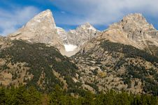 Free Teton Mountains Royalty Free Stock Images - 3990339