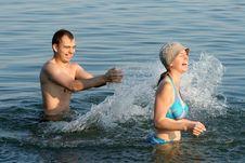 Free Summer. Water. Fun Royalty Free Stock Photo - 3991795