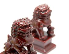 Free Chinese Lion Sculpture Royalty Free Stock Image - 3991816