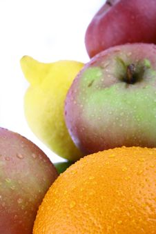 Free A Lot Of Delicious Fresh Fruits Stock Photography - 3993082