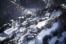 Free Small Mountain Village Stock Photo - 3993090