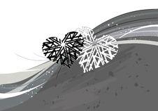 Free Grunge Valentine Background Stock Image - 3993501