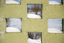 Free Fragment Of A Brick Wall Stock Photography - 3994182