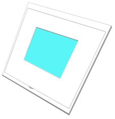 Plastic Picture Slide Frame Stock Photos