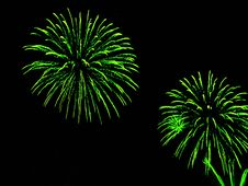 Free Fireworks Background Royalty Free Stock Photography - 3994297