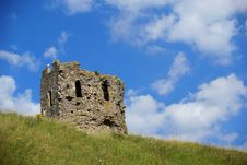 Free Ruins Of A Medieval Tower Royalty Free Stock Photo - 3994595