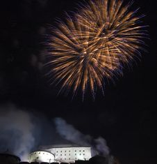 Free Fireworks In Kufstein Royalty Free Stock Photos - 3994878