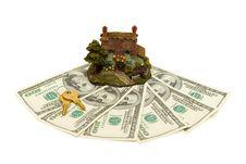 Free House, Money And Keys Stock Photo - 3995050