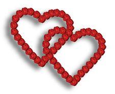 Free Rose Hearts Royalty Free Stock Image - 3995476
